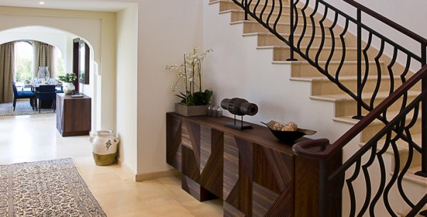 Foyer Decor Uae : Modern arabic villa designs that celebrate opulence