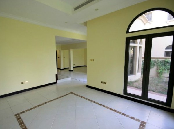 An Arabic villa interior