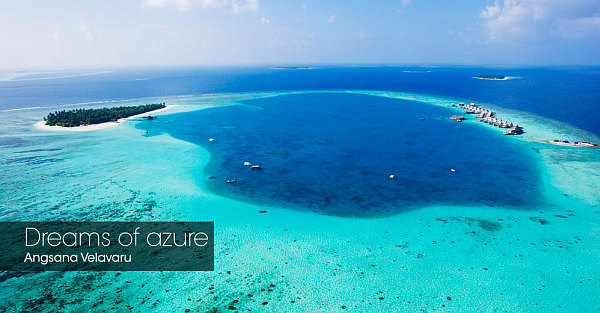 Angsana Velavaru Maldives Resort – azure waters