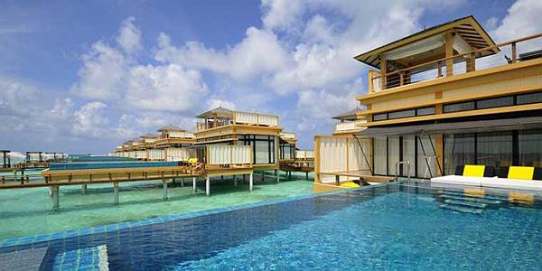 Angsana Velavaru Maldives Resort – over the water villas