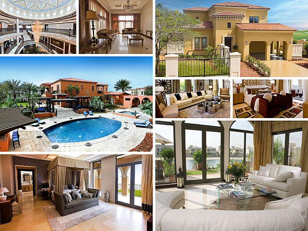 7 modern arabic villa designs that celebrate opulence for Villa ideas designs