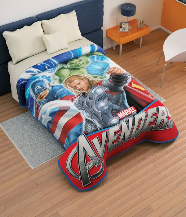 Avengers Bed Sheets for Kids Boys Bedding: 28 Superheroes Inspired Sheets For Those Who Are Children at Heart