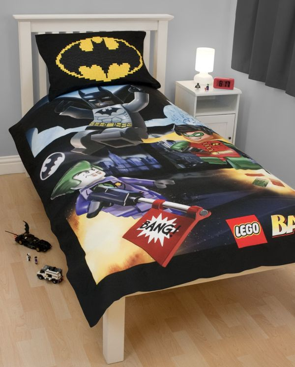 Favorite characters, bold hues and classic comic book details provide our exclusive BATMAN™ Collection with its full-of-fun look. From toys that inspire active imaginations to comic art bedding to our newest must-have – the Batmobile™ Bed – there's something to excite and delight every hero-in-training.
