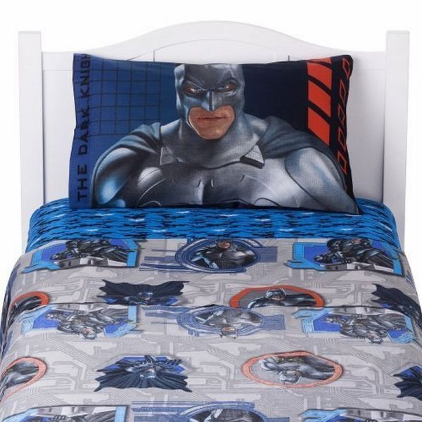 Boys Bedding Superheroes Inspired Sheets - Batman dark knight bedding
