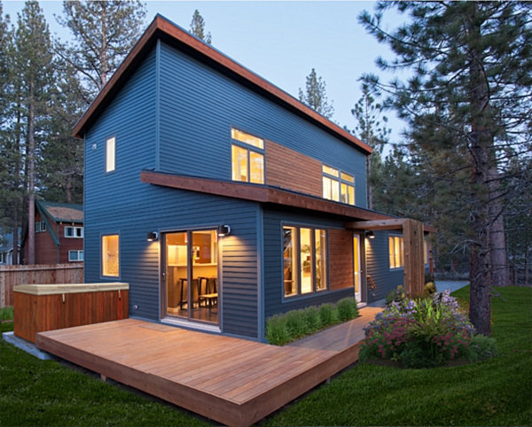 8 modular home designs with modern flair for Prefab cottage plans