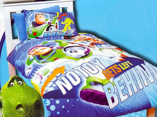 Buzz Bedsheet inspired by Toy Story