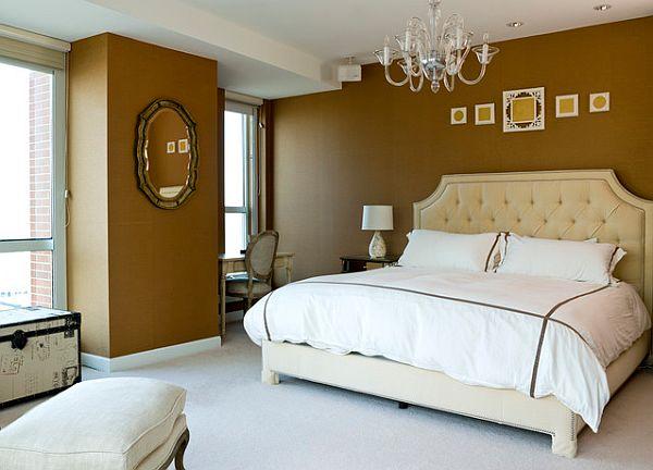 classy french inspired bedroom design