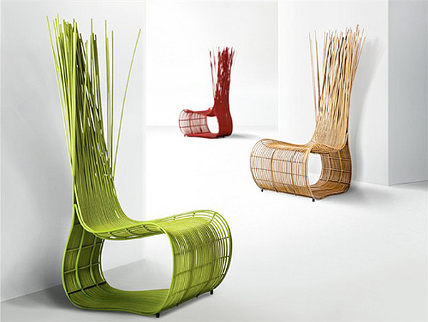 Colorful Rattan Outdoor Furniture