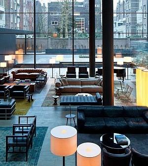 Conservatorium Hotel Amsterdam - lounge