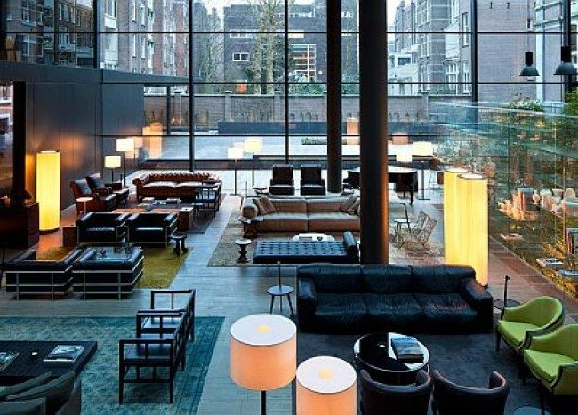 Conservatorium Hotel Amsterdam: Integrating the vintage with the modern in glassy luxury