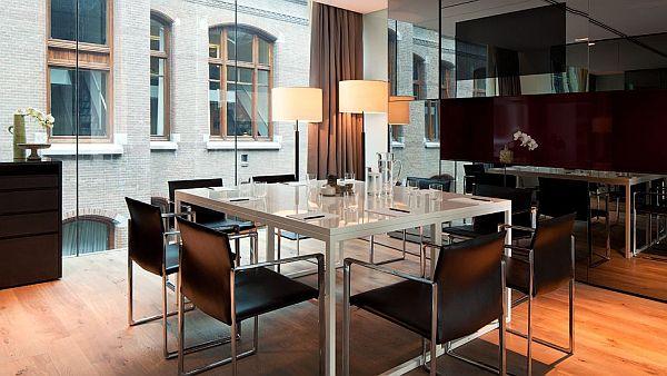 Conservatorium Hotel Amsterdam – meeting room design