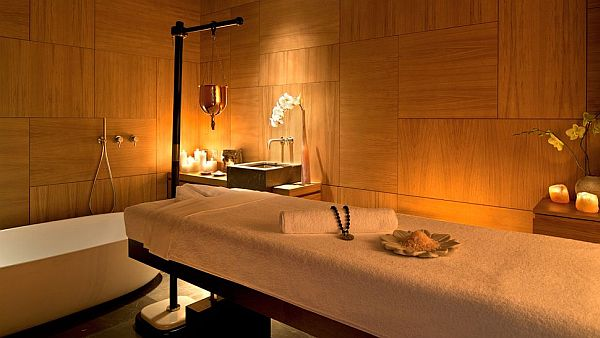 Massage Room Interior Design Luxury Spa