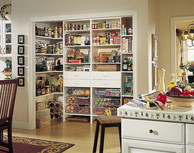DIY pantry organization Getting Your Pantry In Shape: Seven Ideas that Make the Feeding Less Frenzied