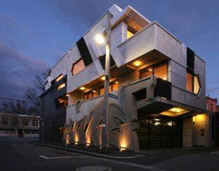 Enigmatic Melbourne House With Hip Exterior Design & Unusual Interior