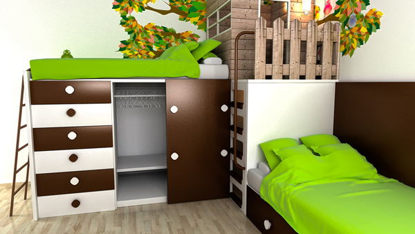 Enfila't Tematic childs room