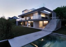 Feldbalz House: Contemporary Glass Home with Brilliant Views of Lake Zurich