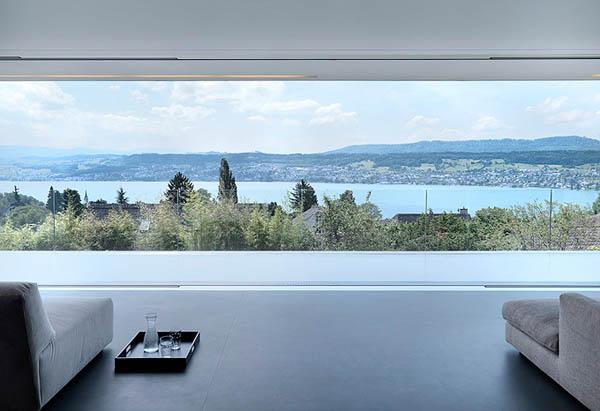 Glass Contemporary Feldbalz House – serenity