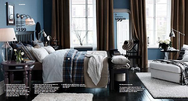 ikea 2013 catalog cozy bedroom decor bedding design