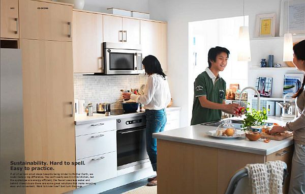IKEA 2013 Catalog – Sustainable kitchen design