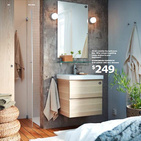Ikea 2013 catalog unveiled inspiration for your home for Bathroom decor 2012
