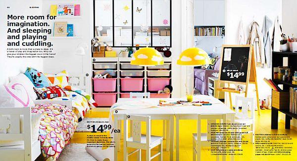 IKEA 2013 Catalog – colorful kids playground