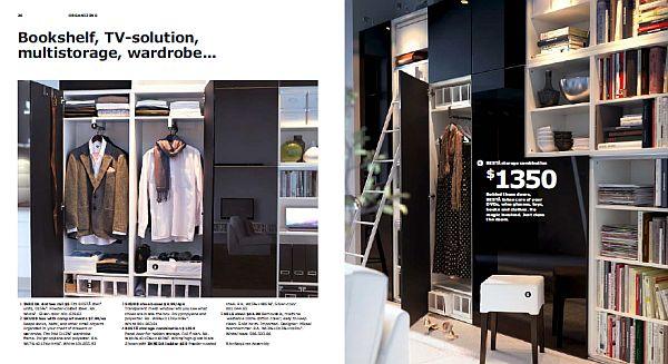 IKEA 2013 Catalog – fancy wardrobes