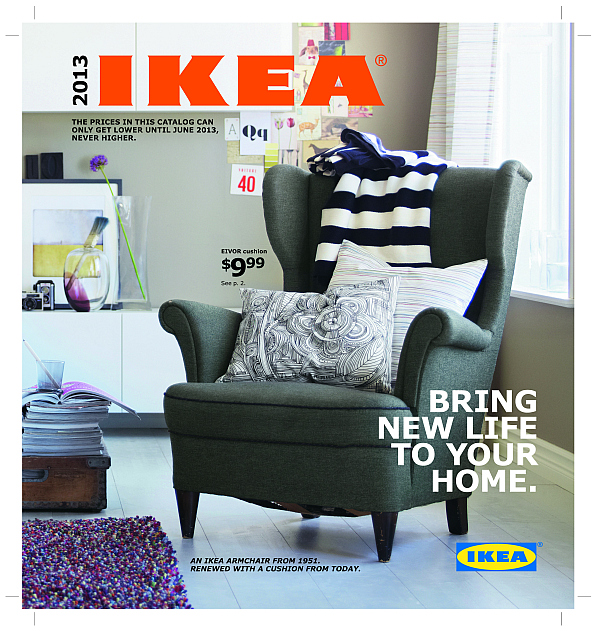 Ikea 2013 catalog unveiled inspiration for your home for Ikea ka che inspiration