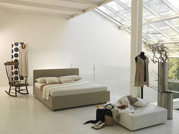 fabric upholstered italian bedroom furniture