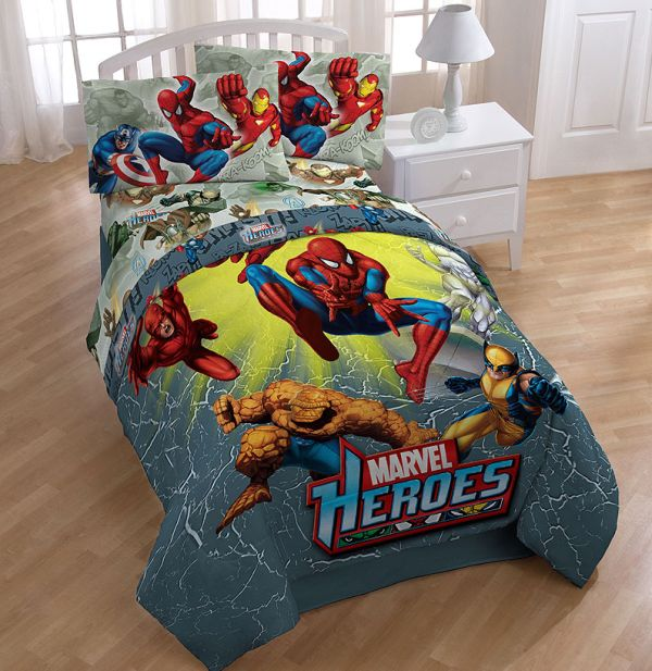 Marvel heroes guard your child at night