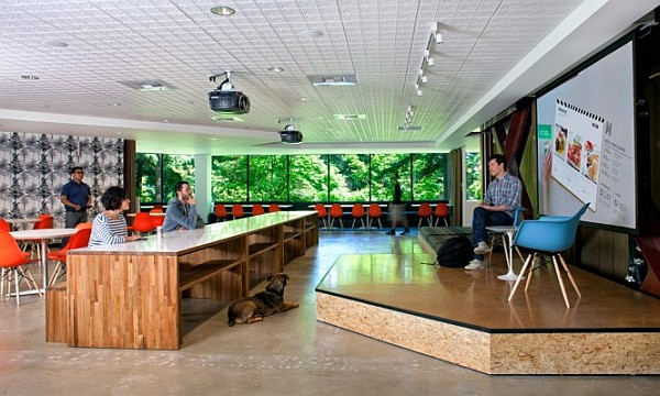 Microsoft Offices In Redmond Future Vision Merges The