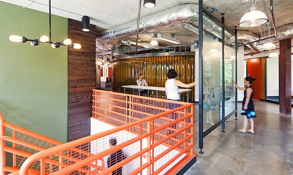Microsoft Offices in Redmond Future vision merges the casual