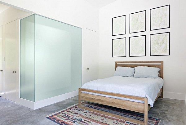 Modern New York Home - Dutchess No1 - all white bedroom