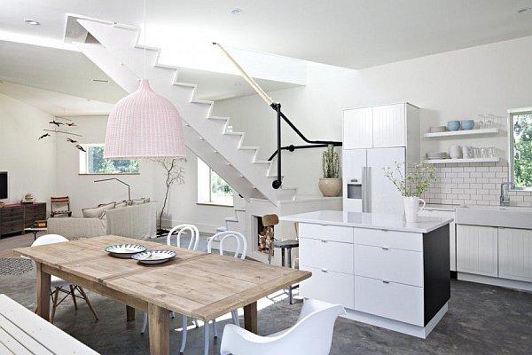 Modern New York Home - Dutchess No1 - white kitchen