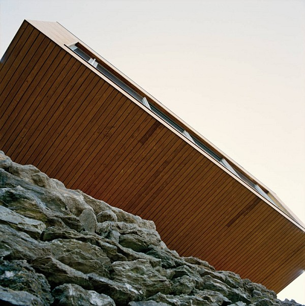 Northface House wooden exterior