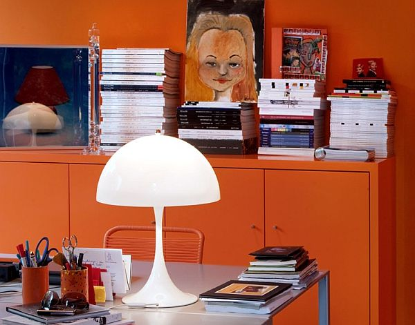 Panthella Table Lamp by Louis Poulsen 11 Unique Reading Lamps for a Delightful Evening