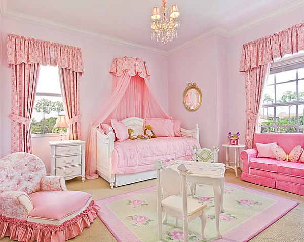 Pink inspiration decorating your home with pink for Pink bedroom designs for teenage girls