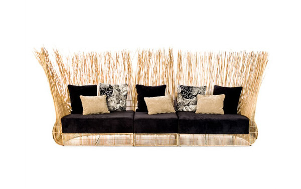 Rattan Outdoor Couch