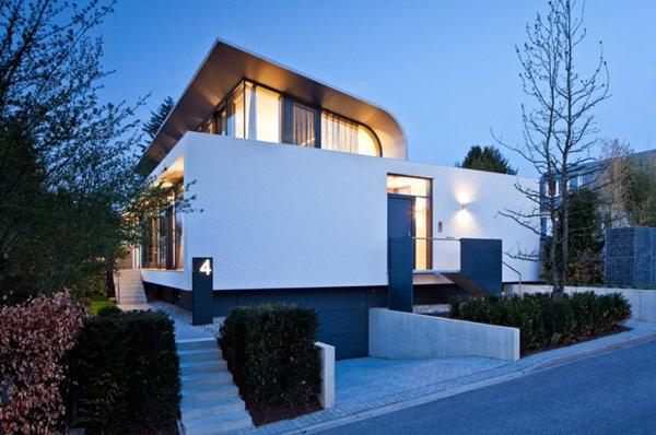 Rectangular C1 House 2 Rectangular C1 House in Germany Amalgamates Sleek Form and Efficient Function
