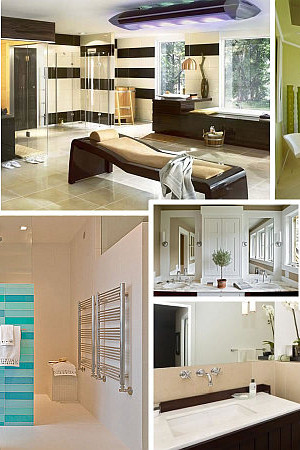 Relaxing Bathroom Designs