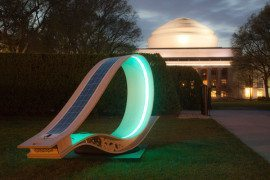 Solar Powered Lounger Will Charge Gadgets in Glowing Style