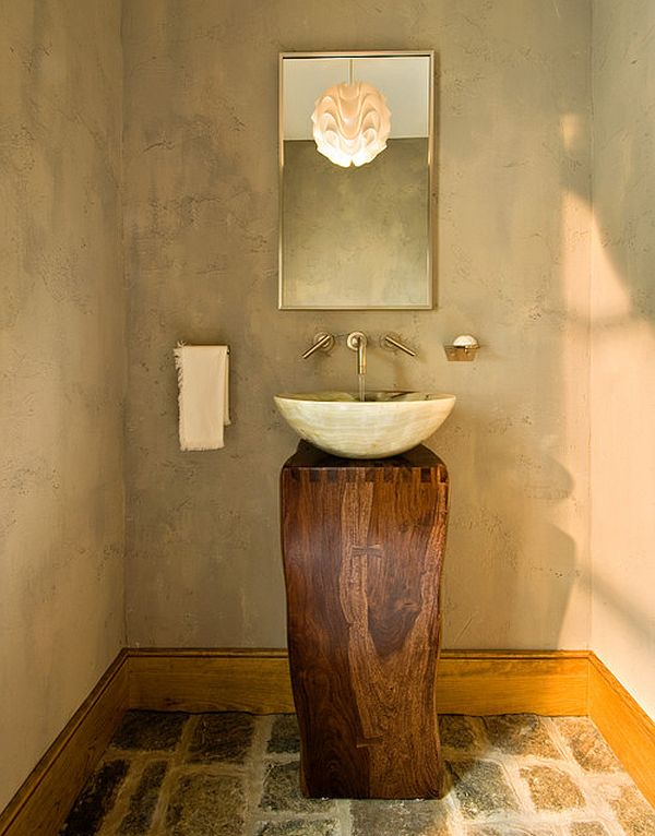 Vanity That Goes Back To The Basics. View In Gallery Simple Vanity ...