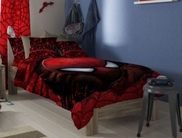 Spiderman Double bed sheet