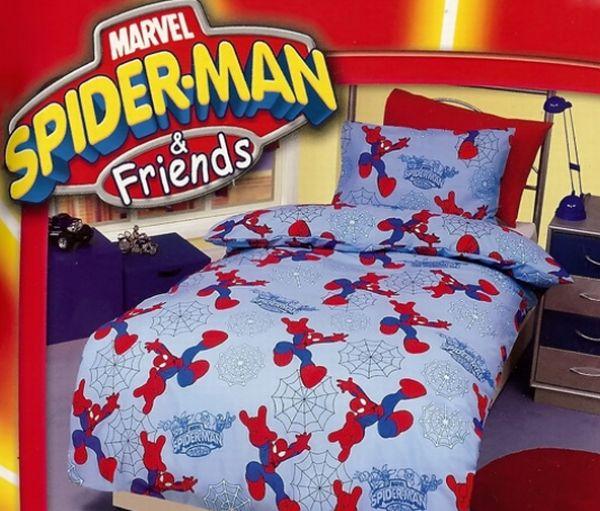 Spiderman & Friends Bedsheet