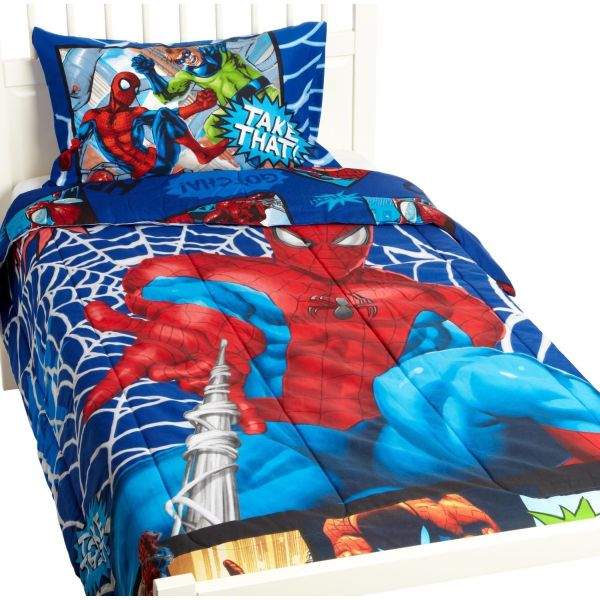Spiderman Take That Bedding