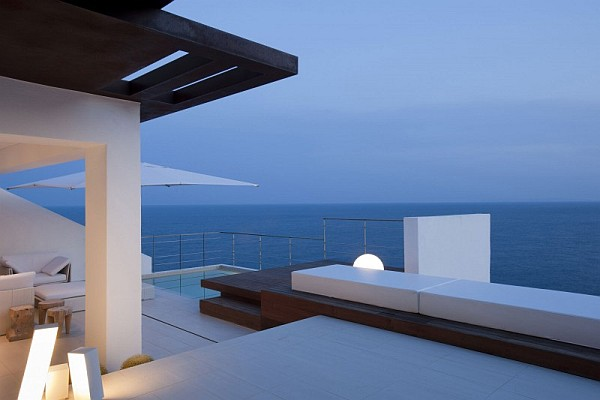 Stunning villa design in Ibiza