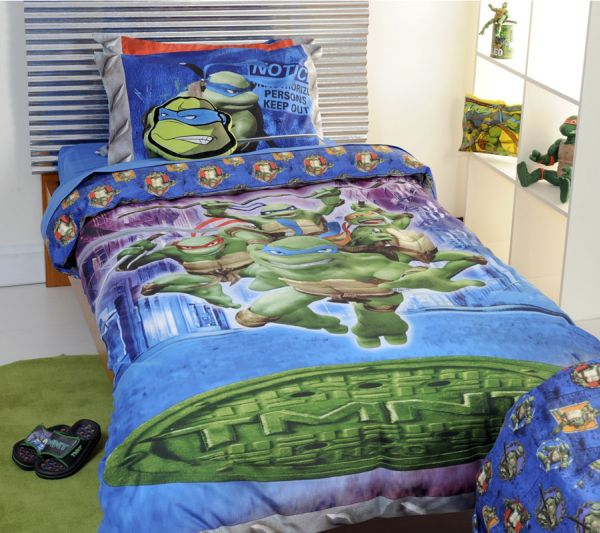 Teenage Mutant Ninja Turtles quilt cover set bedding package