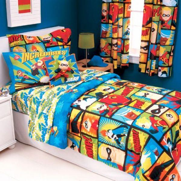 the incredibles superheroes bedding comforter for children
