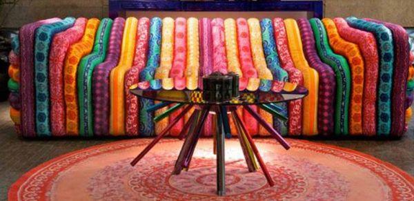 Versace living room bubble sofa