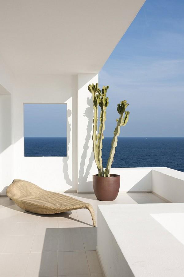 White Ibiza villa
