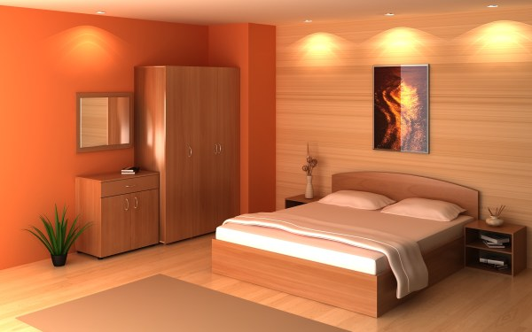 View In Gallery A Golden Bedroom ...